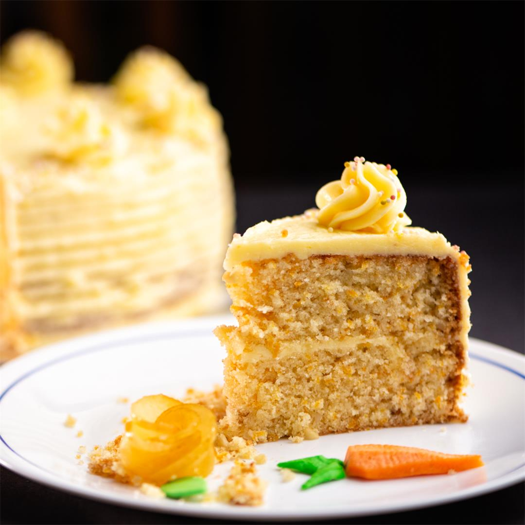 Carrot Cake / Carrot Apple Cake