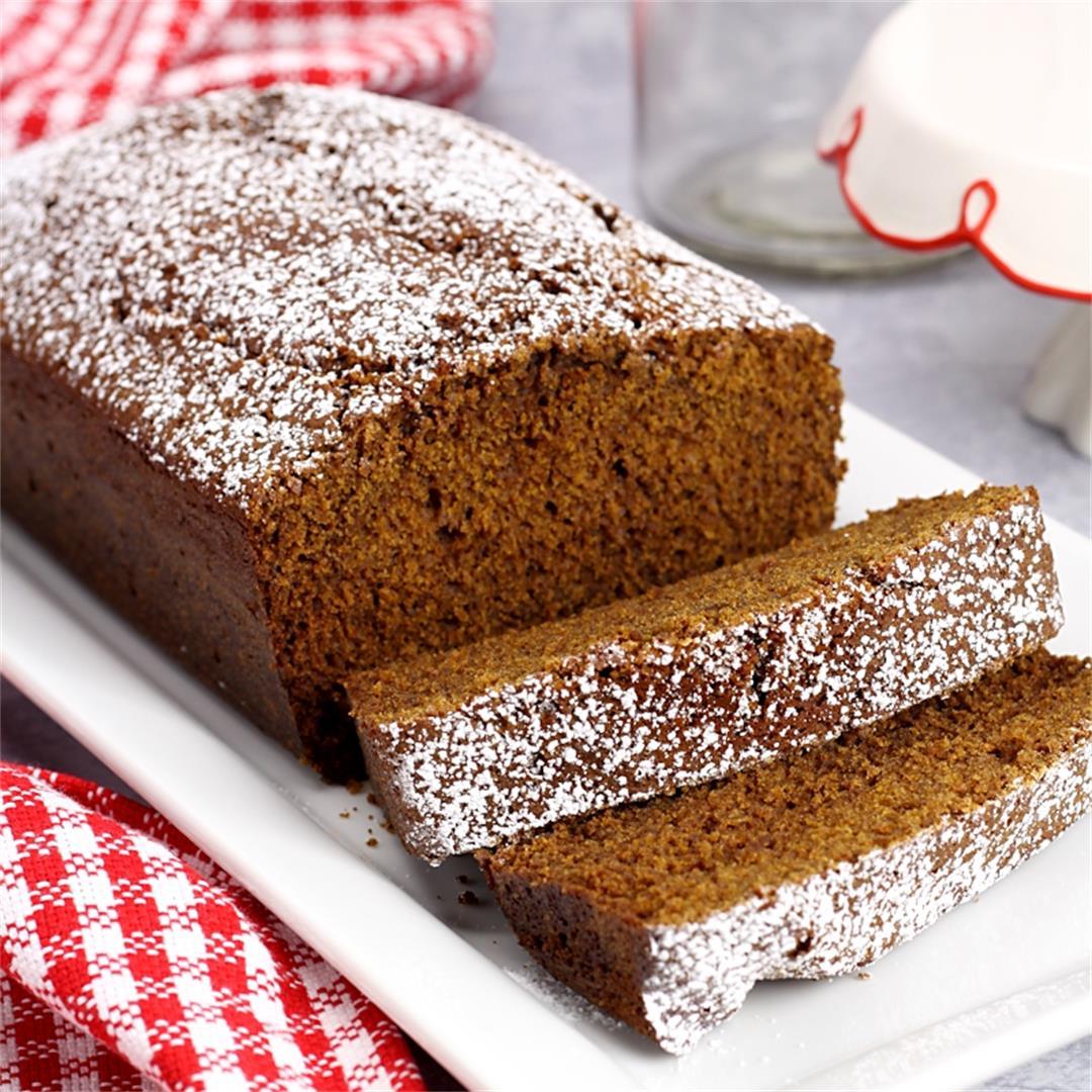Homemade Gingerbread Loaf