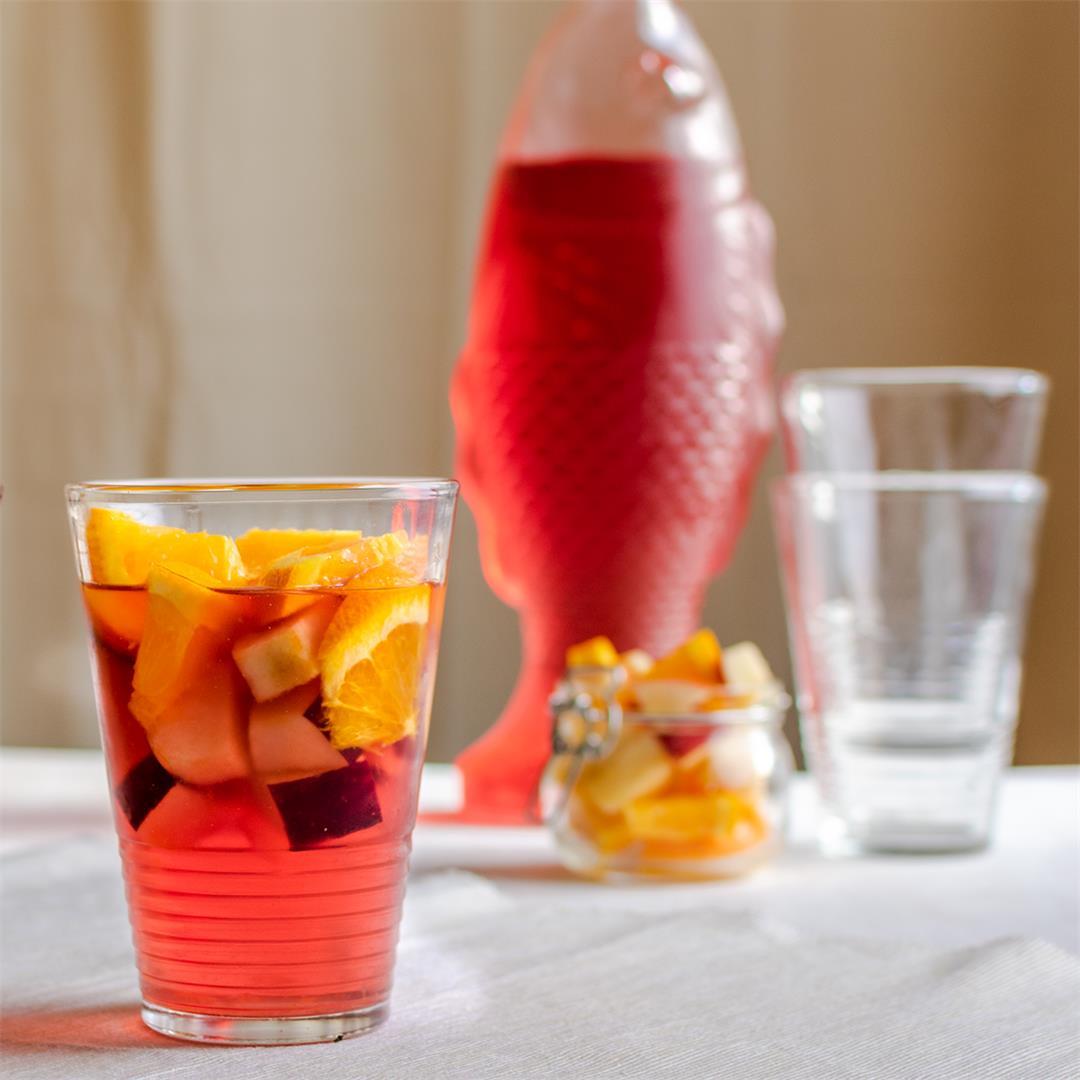 Ginger-Cranberry Mocktail Recipe