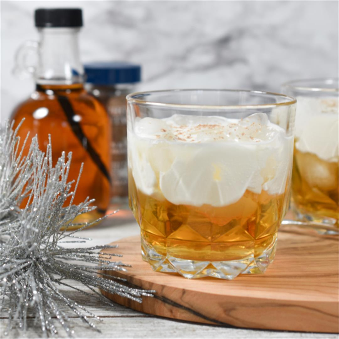 Maple Beam and Cream Cocktail