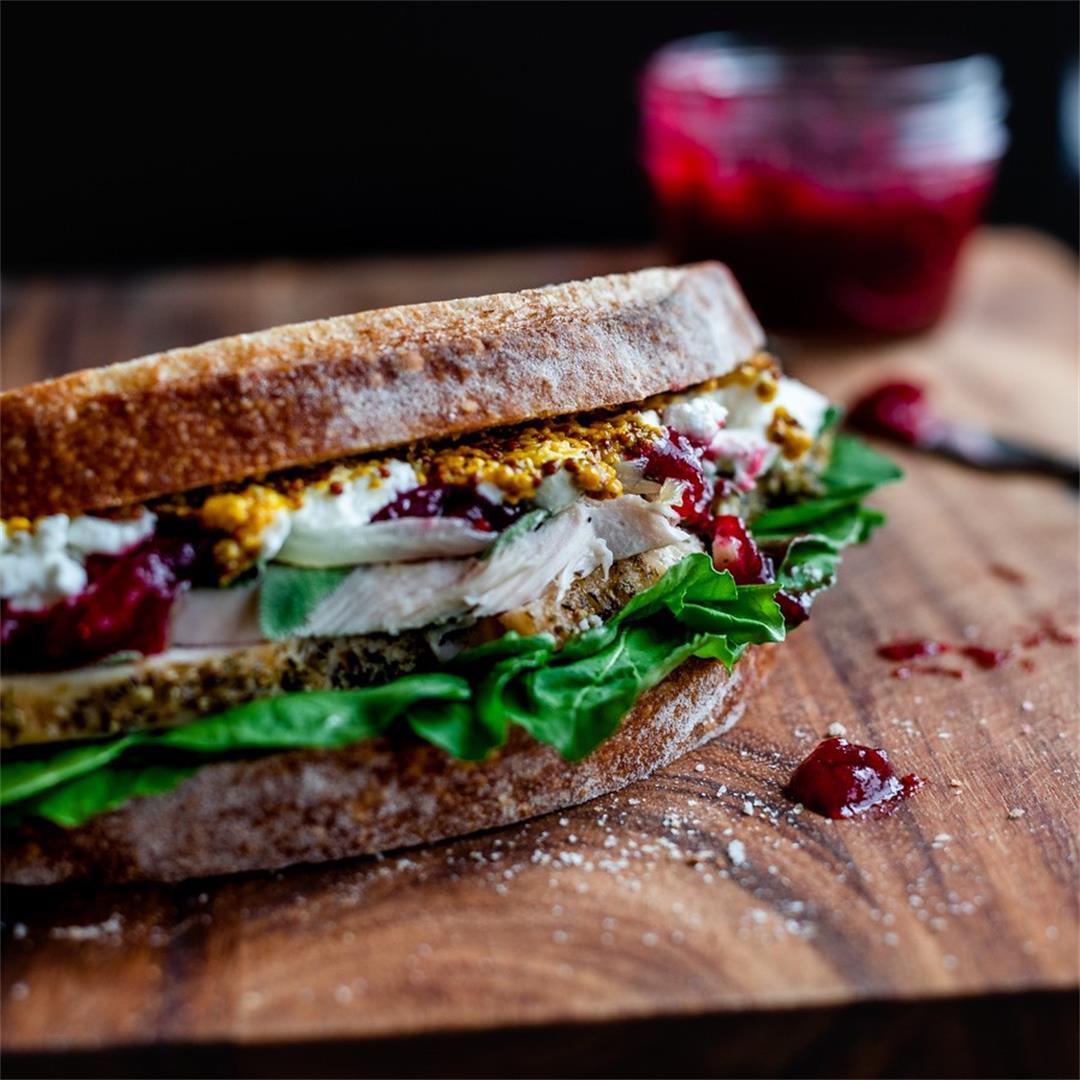 Epic CranTurkey Sandwich