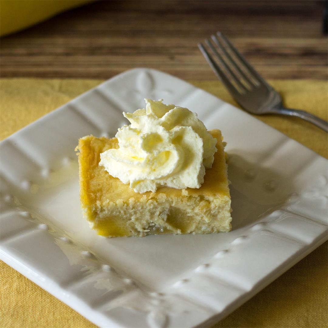 Low Carb Yellow Squash Cake