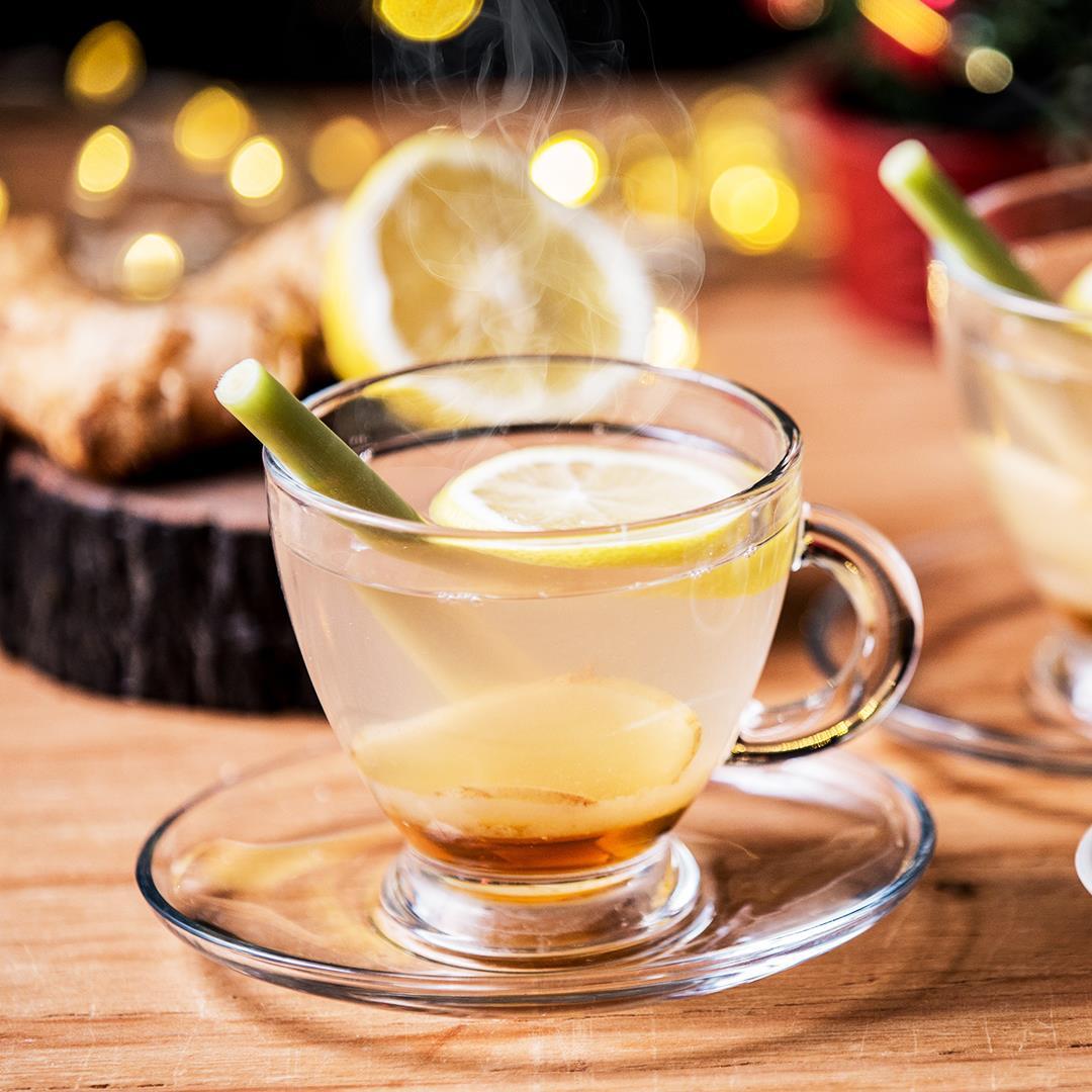 Honey Lemongrass Ginger Tea