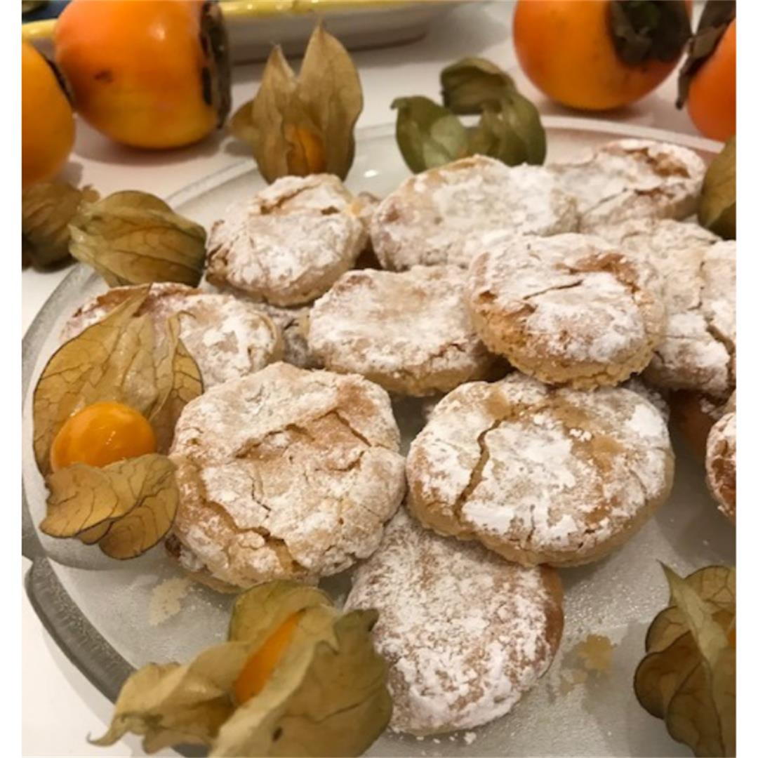 Easy Italian Christmas cookies, GF and butter free