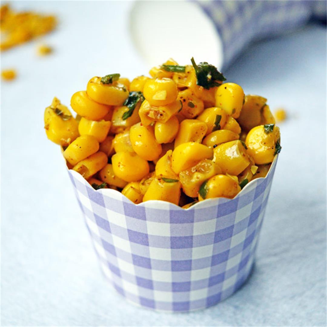 Corn Chaat (Masala Corn)