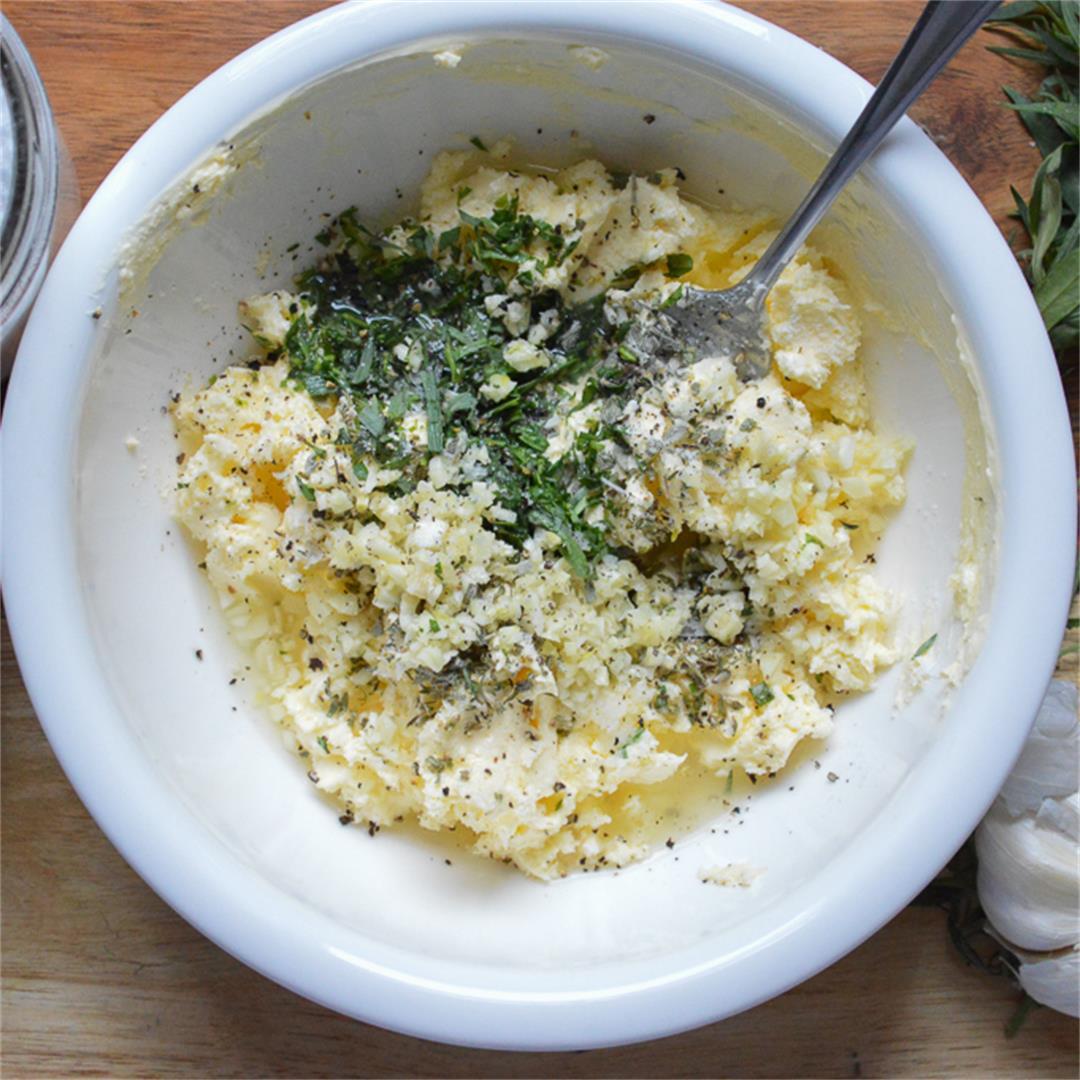 Lemons and Herbs Butter