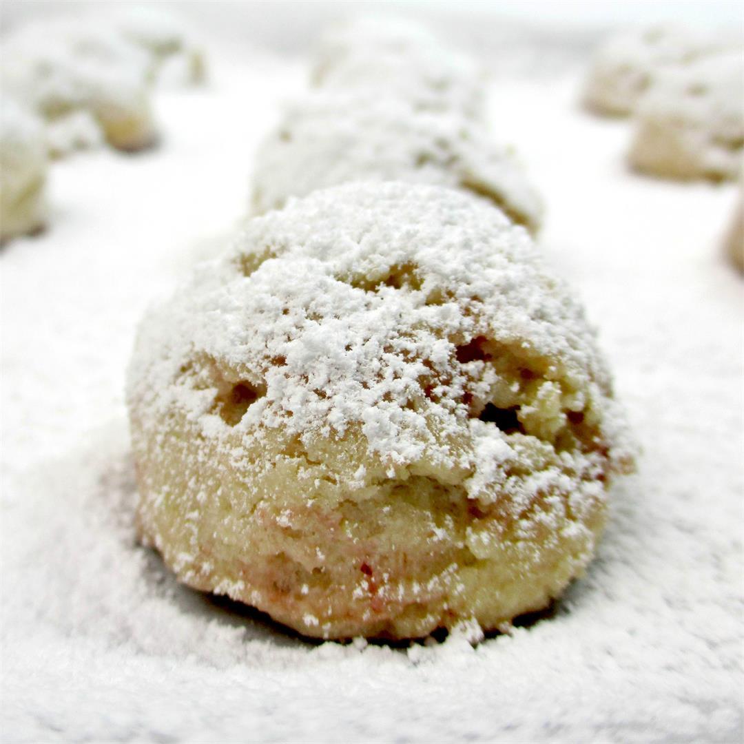 Strawberry Hazelnut Butter Cookies
