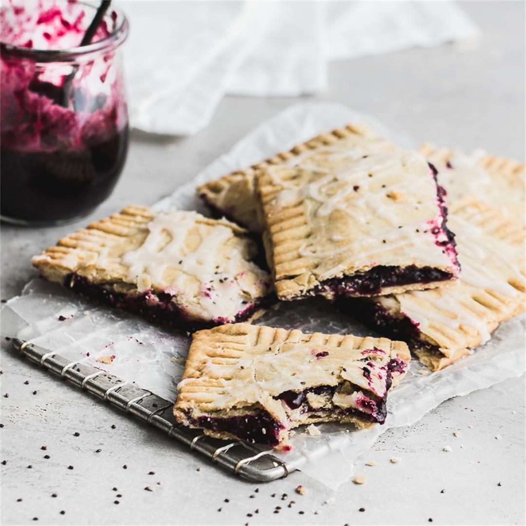 Gluten Free Blueberry Slab Pie
