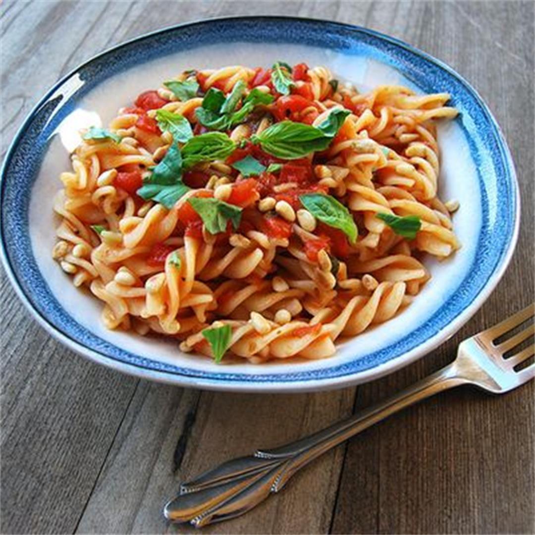 The Perfect Tomato Pasta Sauce