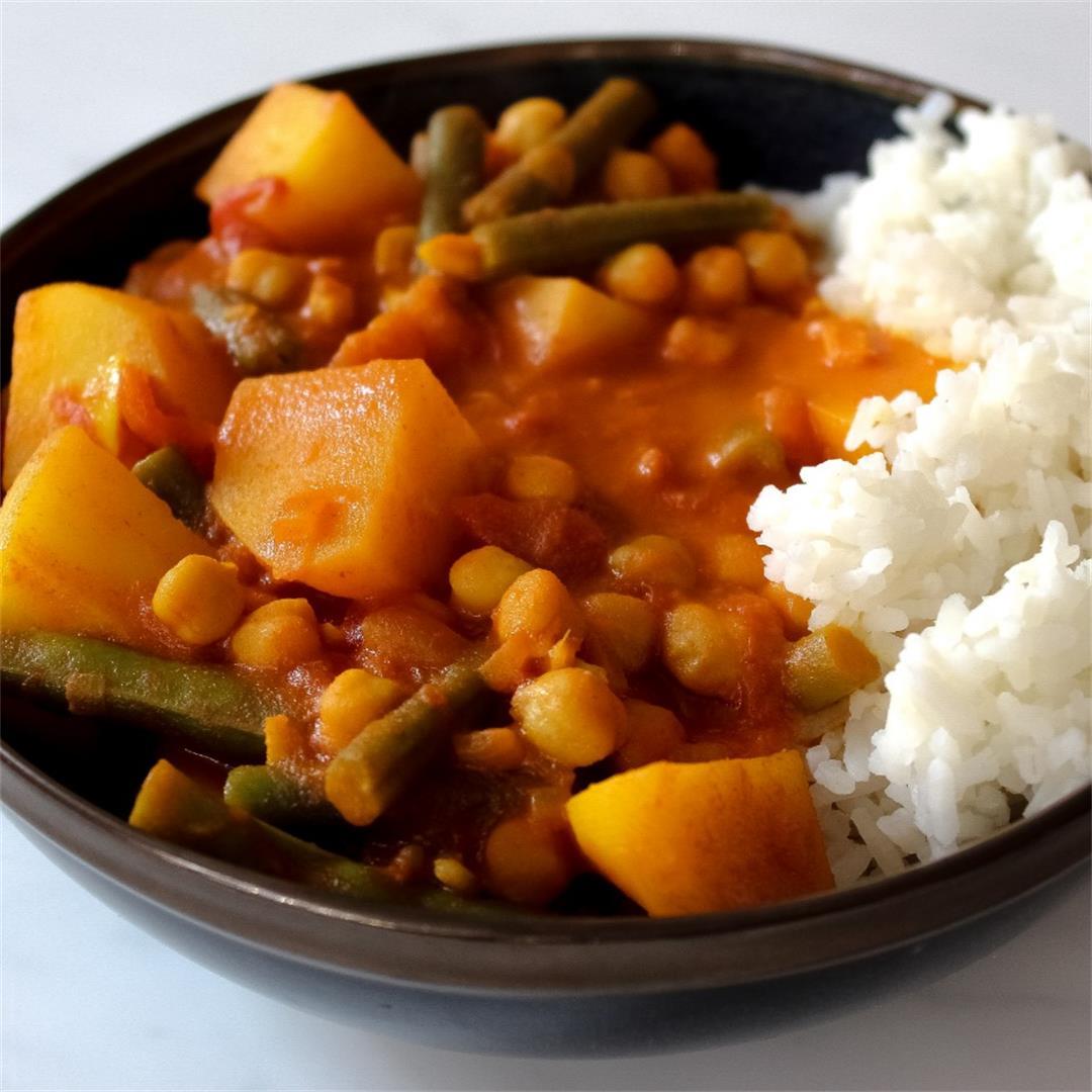 Vegan Red Curry