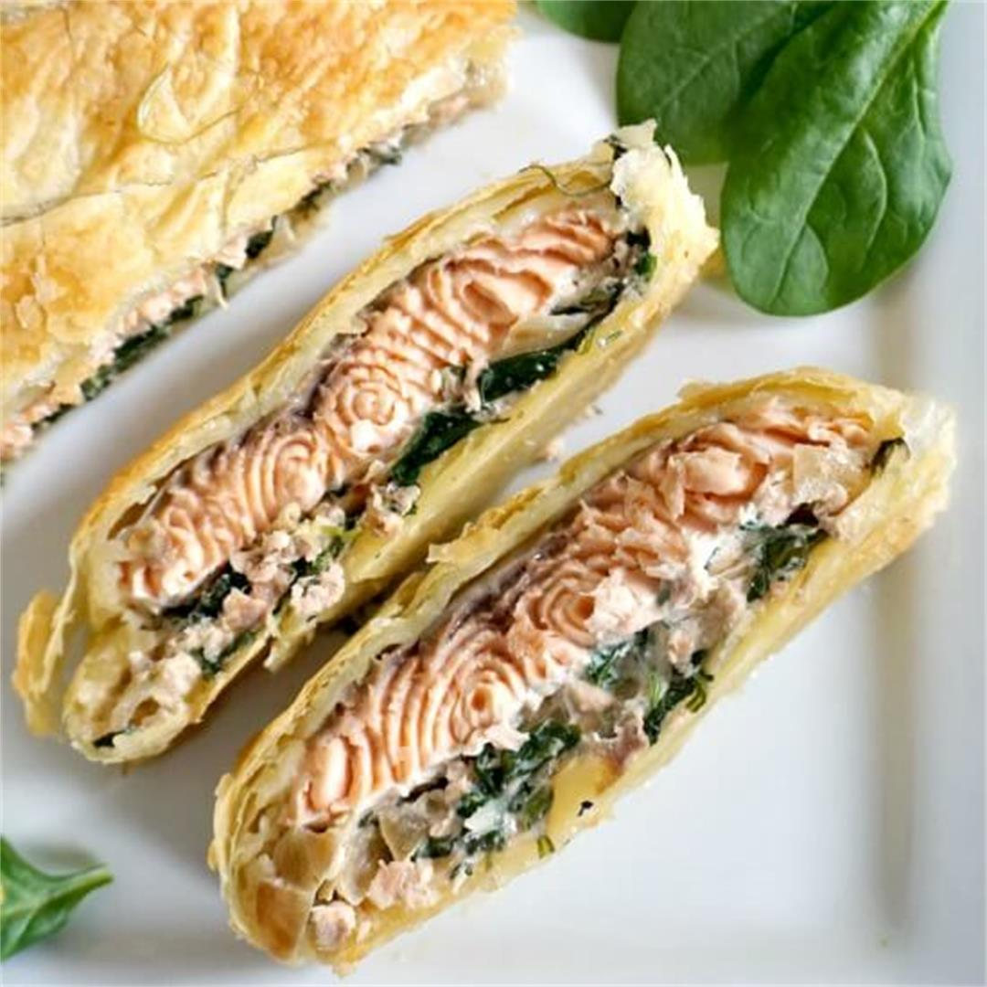 Salmon Wellington