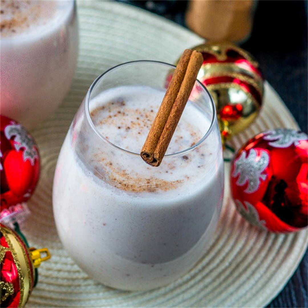 Coquito - Puerto Rican Christmas drink (vegan/alcohol free)
