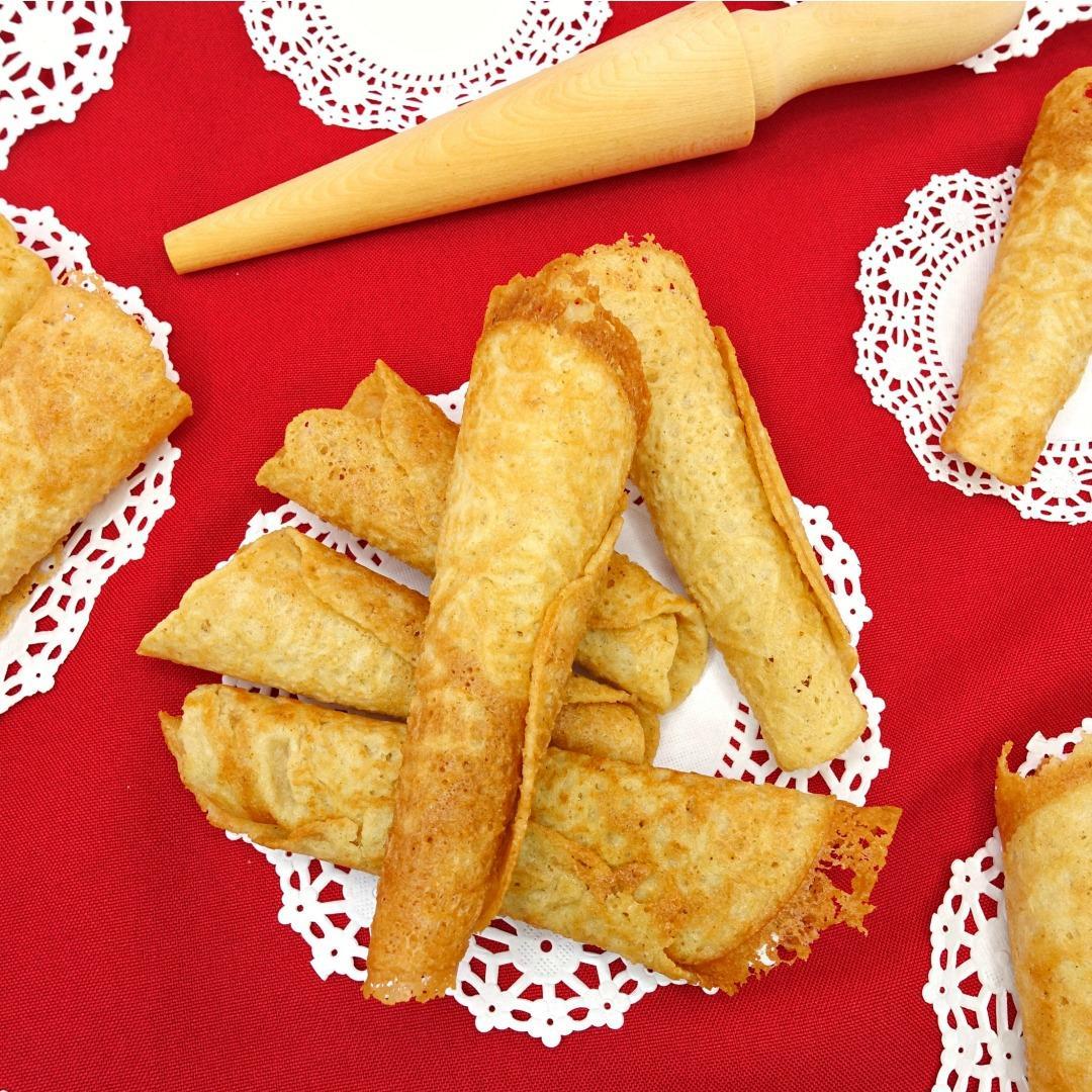 Paleo Norwegian Krumkake Cookies