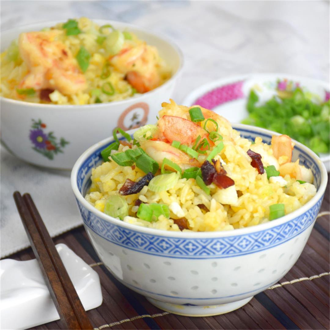Yang Chow fried rice 扬州炒饭