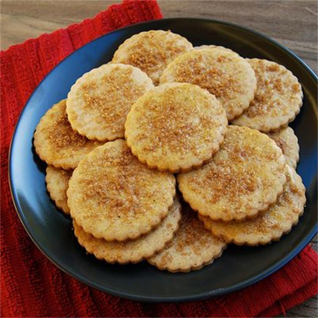 Orange & Festive Spice Biscuits