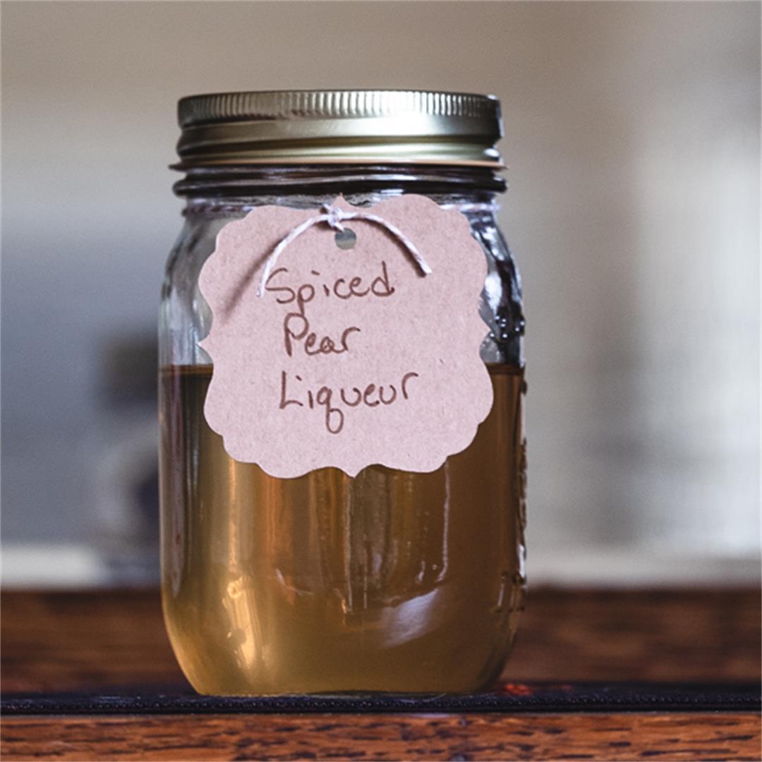 Spiced Pear Liqueur