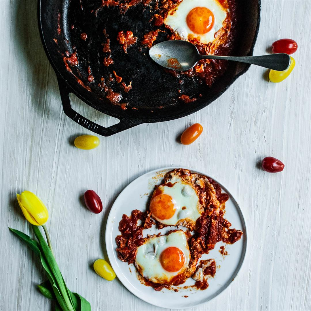Eggs with Tomato Sauce