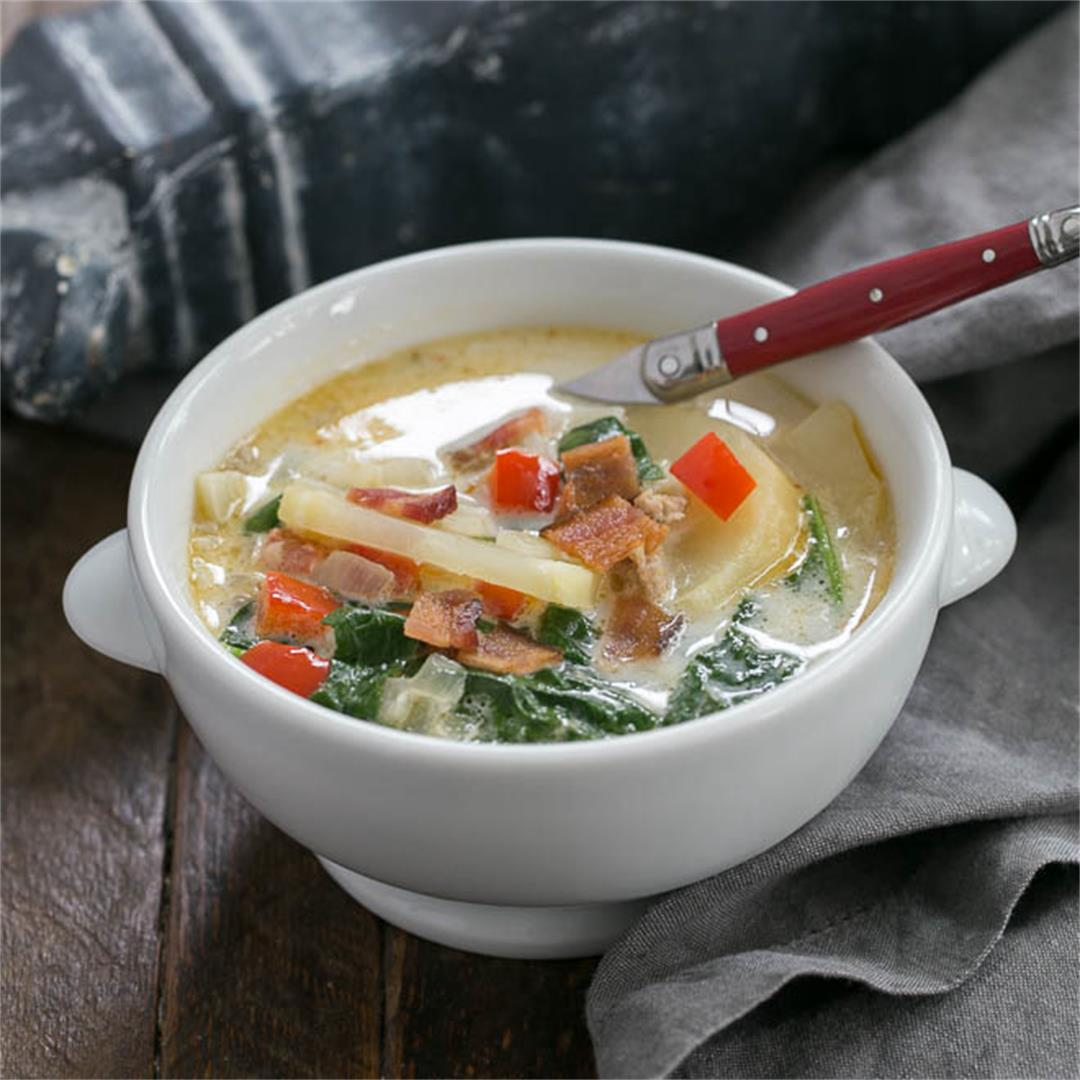 Zuppa Toscana or Tuscan Sausage Soup