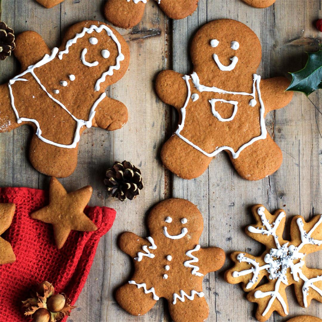 Norwegian Gingerbread Cookies