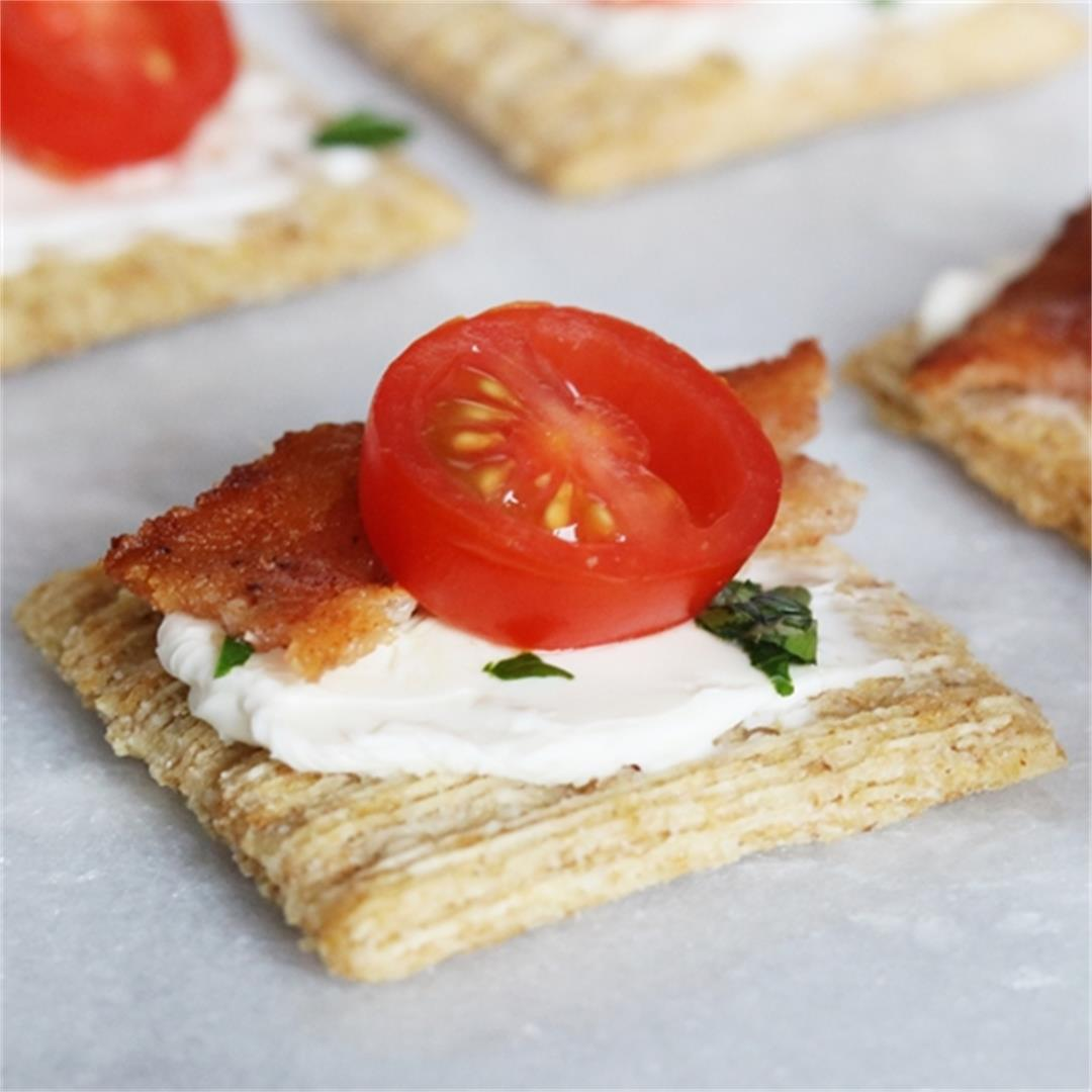 Tomato and Bacon Appetizer