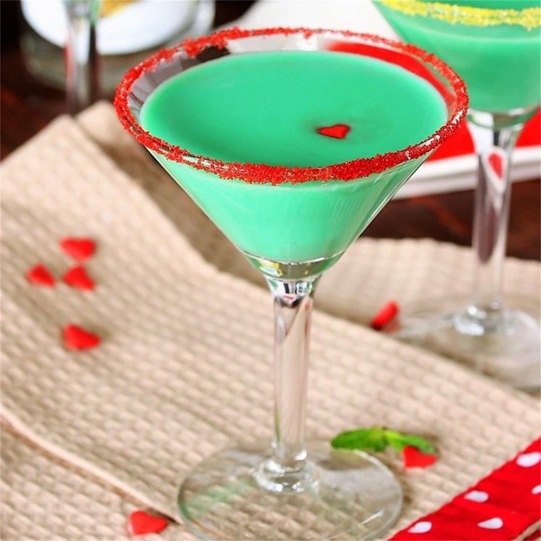 Grinch Grasshopper Cocktail