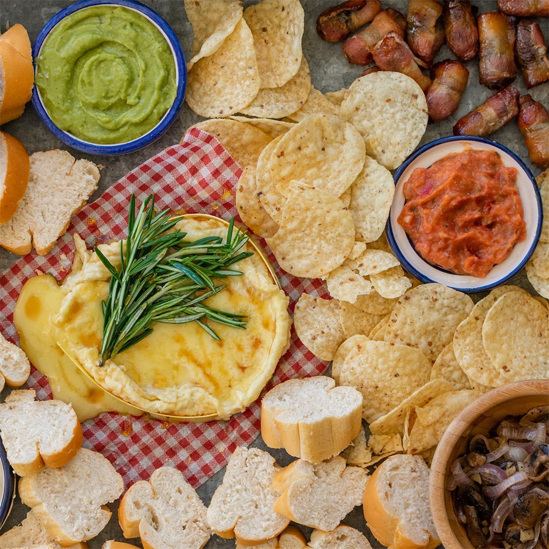 Easy Christmas Appetizer Platter
