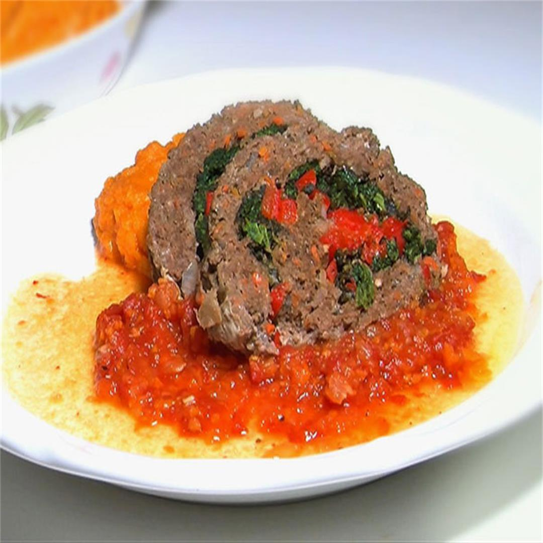 Nina's Healthy Meatloaf