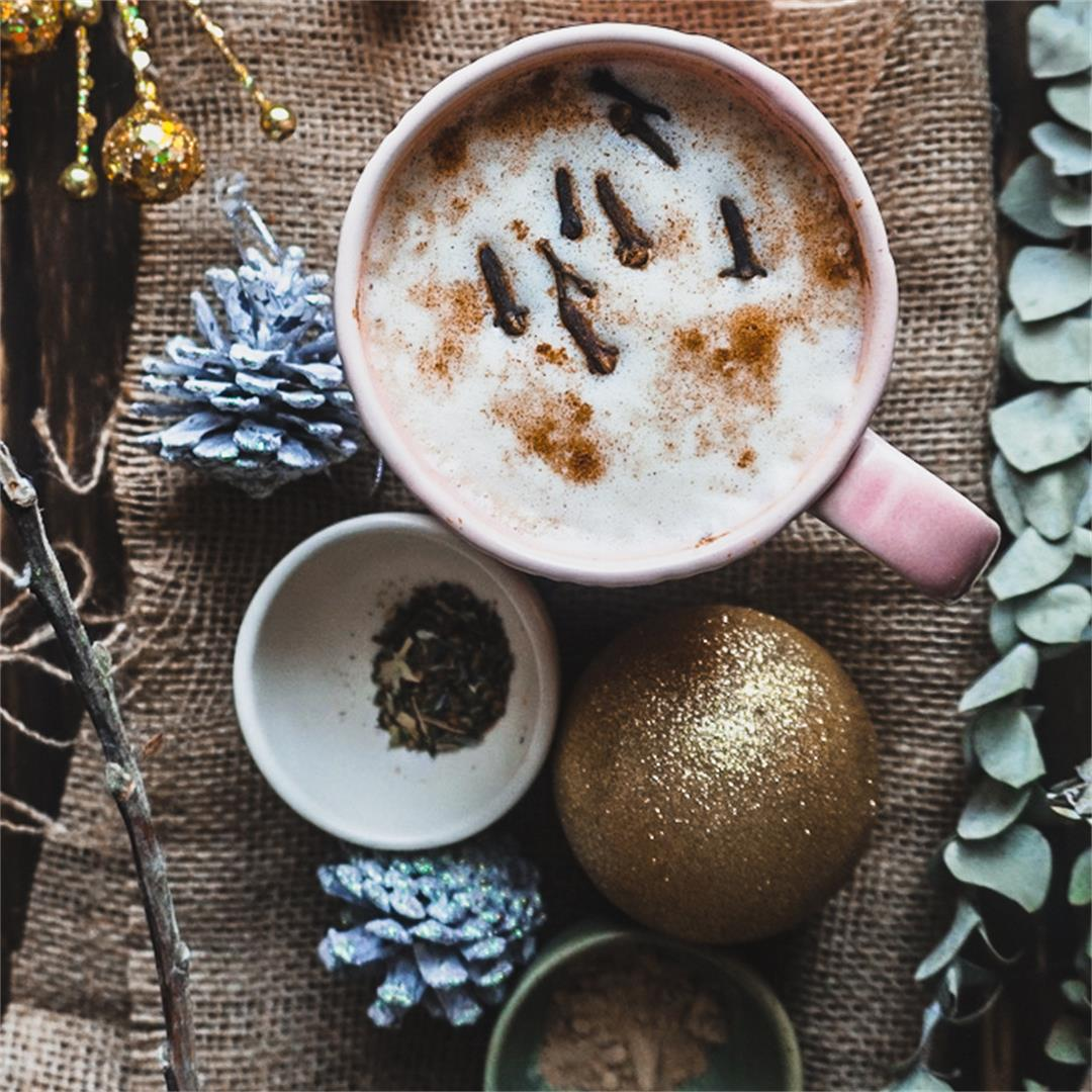 Creamy Cardamom Mushroom Elixir Drink