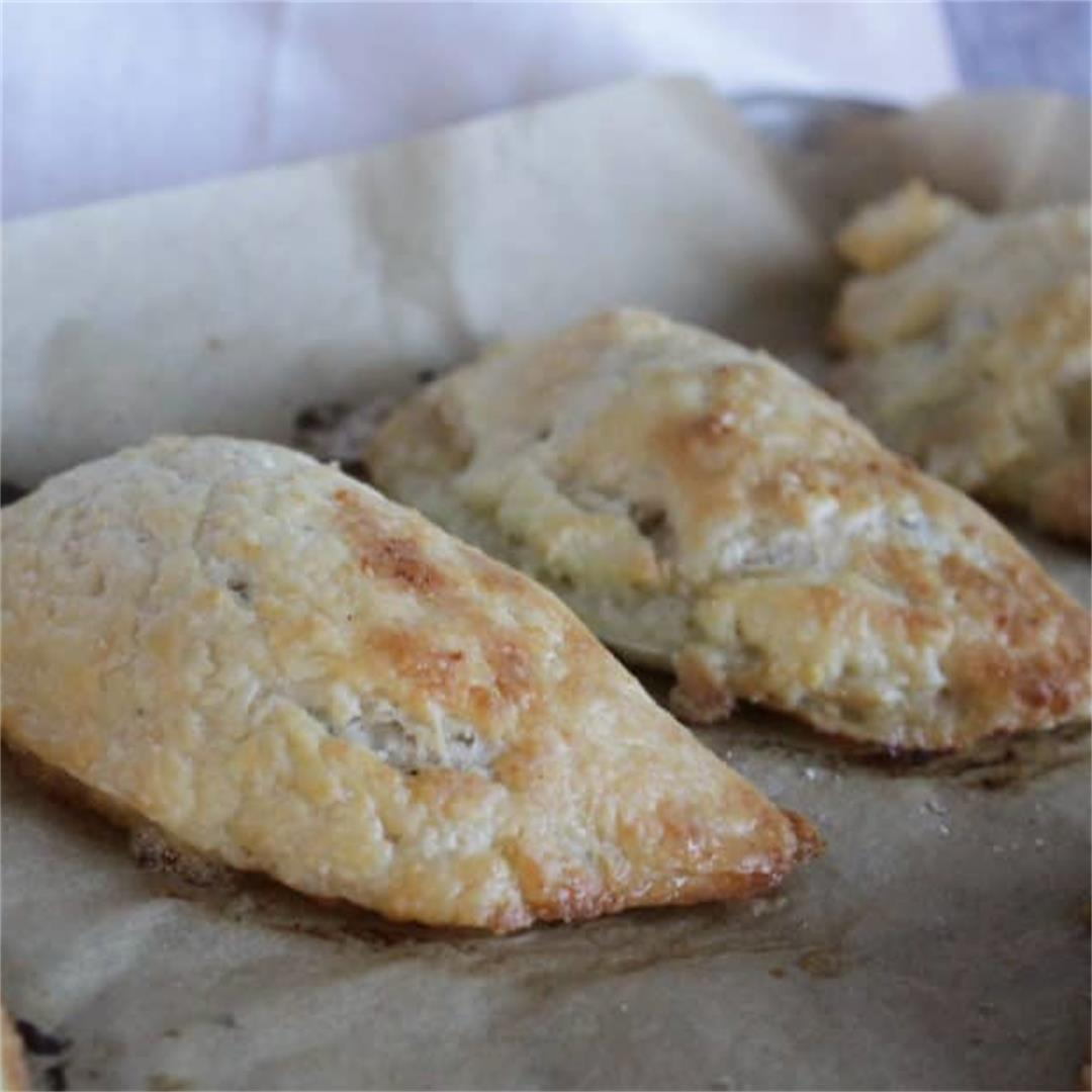Gluten Free Cornish Pasties - great travel food