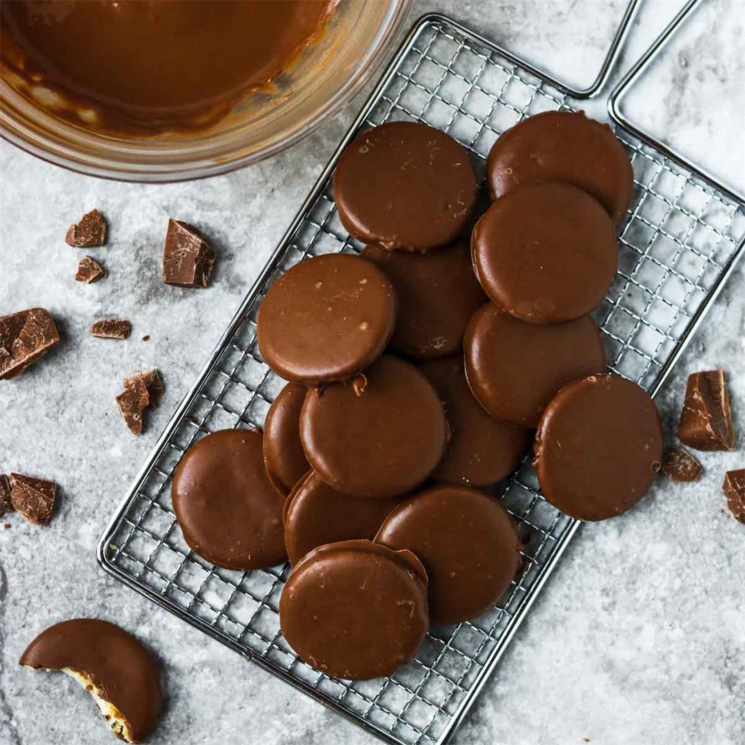 Copycat Thin Mint Cookies