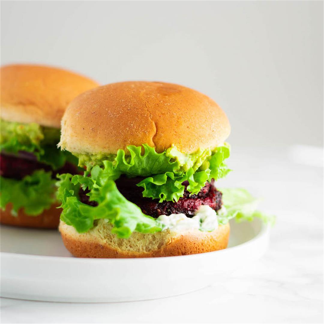 Beetroot Pattie Burger