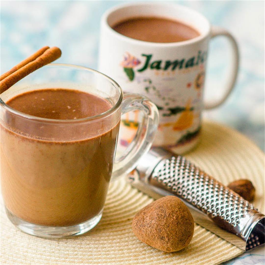 Jamaican hot chocolate