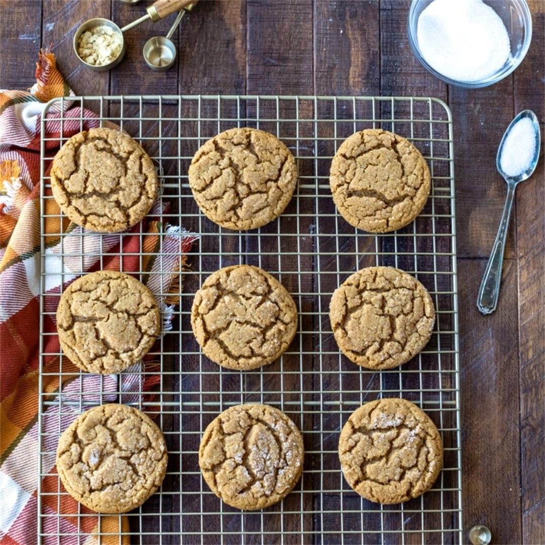Best Molasses Cookies