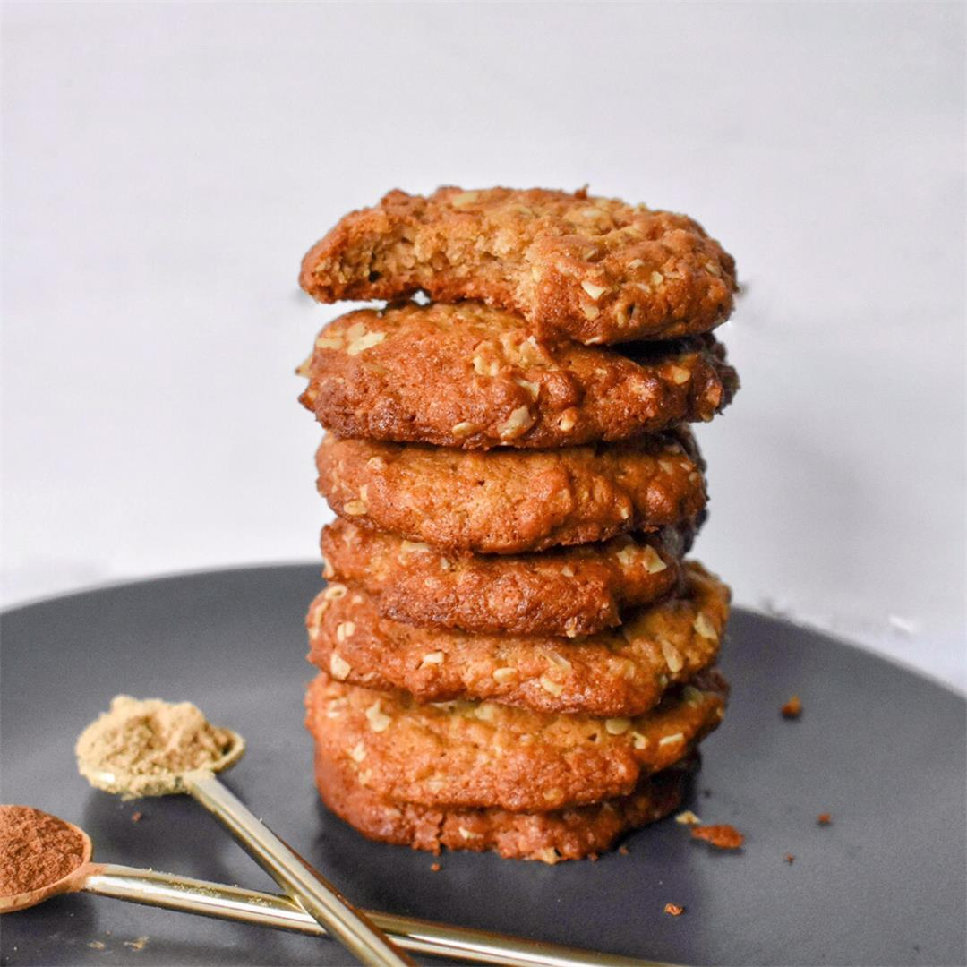Ginger Oatmeal Cookies