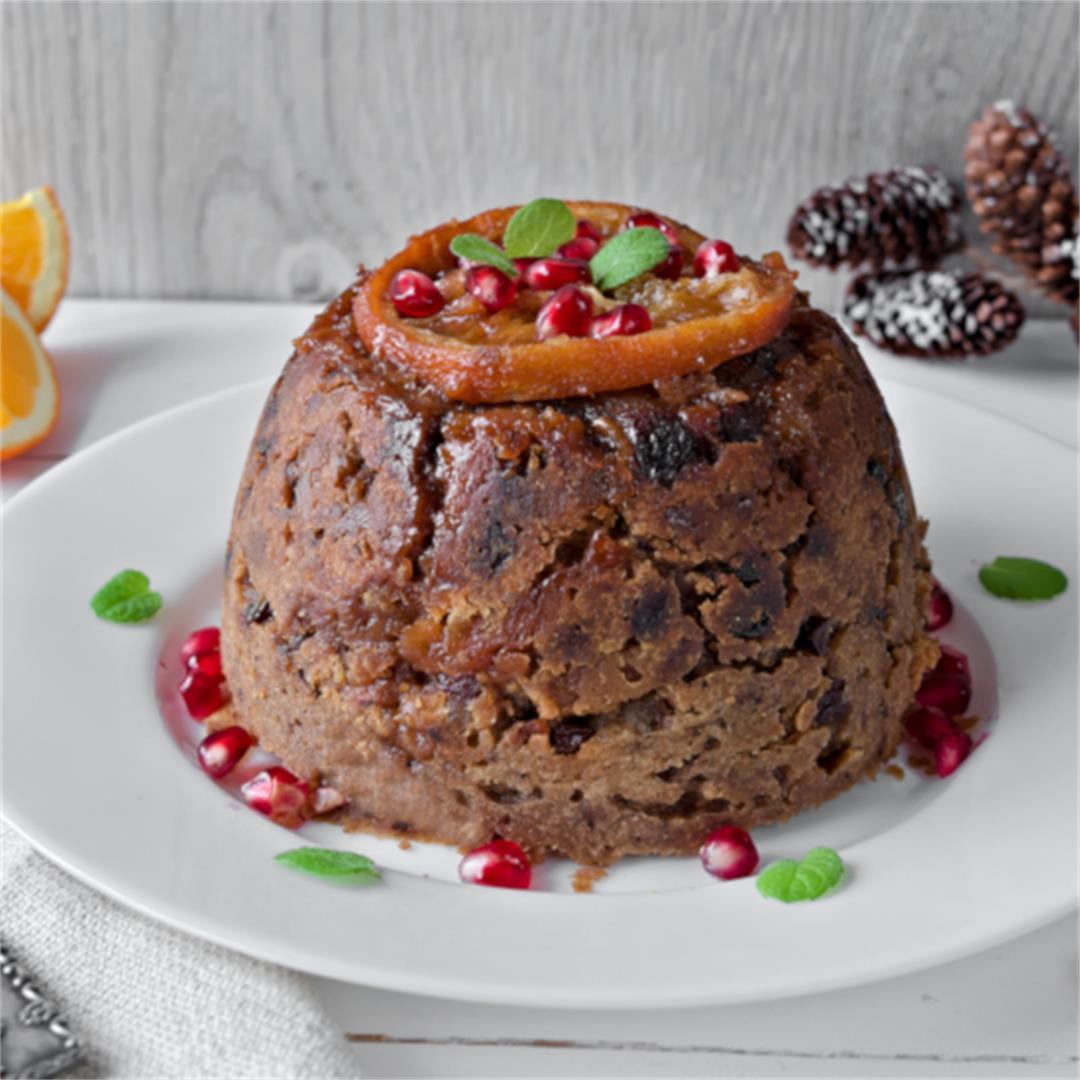 Christmas Pudding Recipe – Easy Fruit Cake