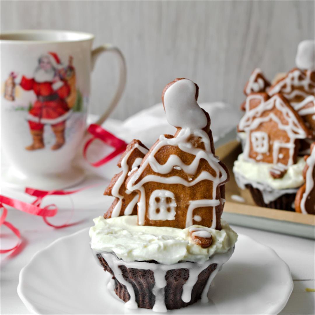 Chocolate Cupcake Recipe – Gingerbread cupcakes
