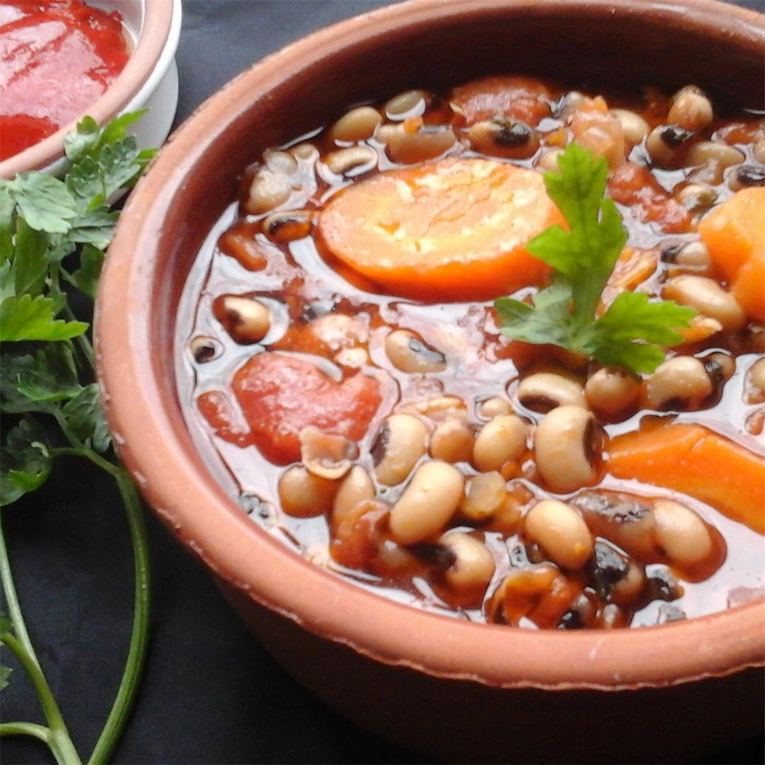 A healthy Soup with a Fruity Taste