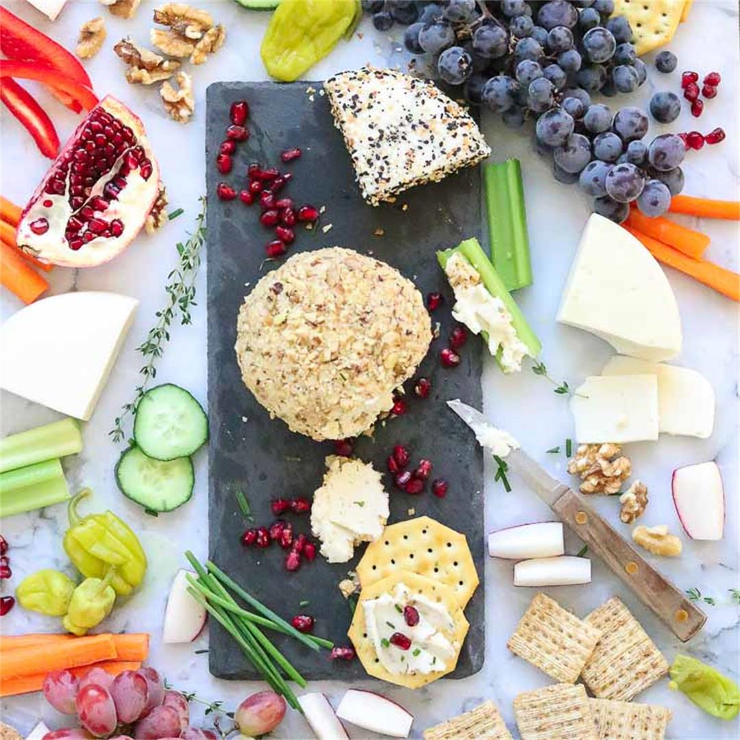 Vegan Cream Cheese Ball - simple and fabulous