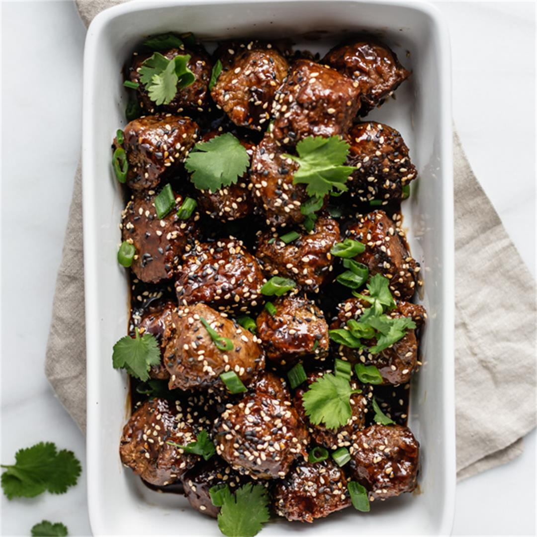 Plant-Based Sweet & Sour Meatballs