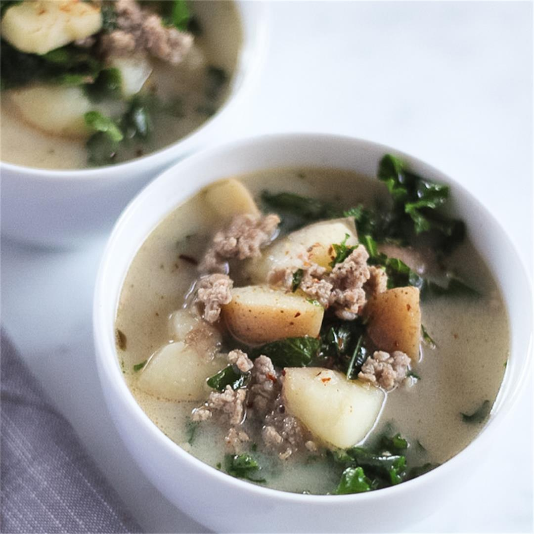 Whole30 Zuppa Toscana Soup