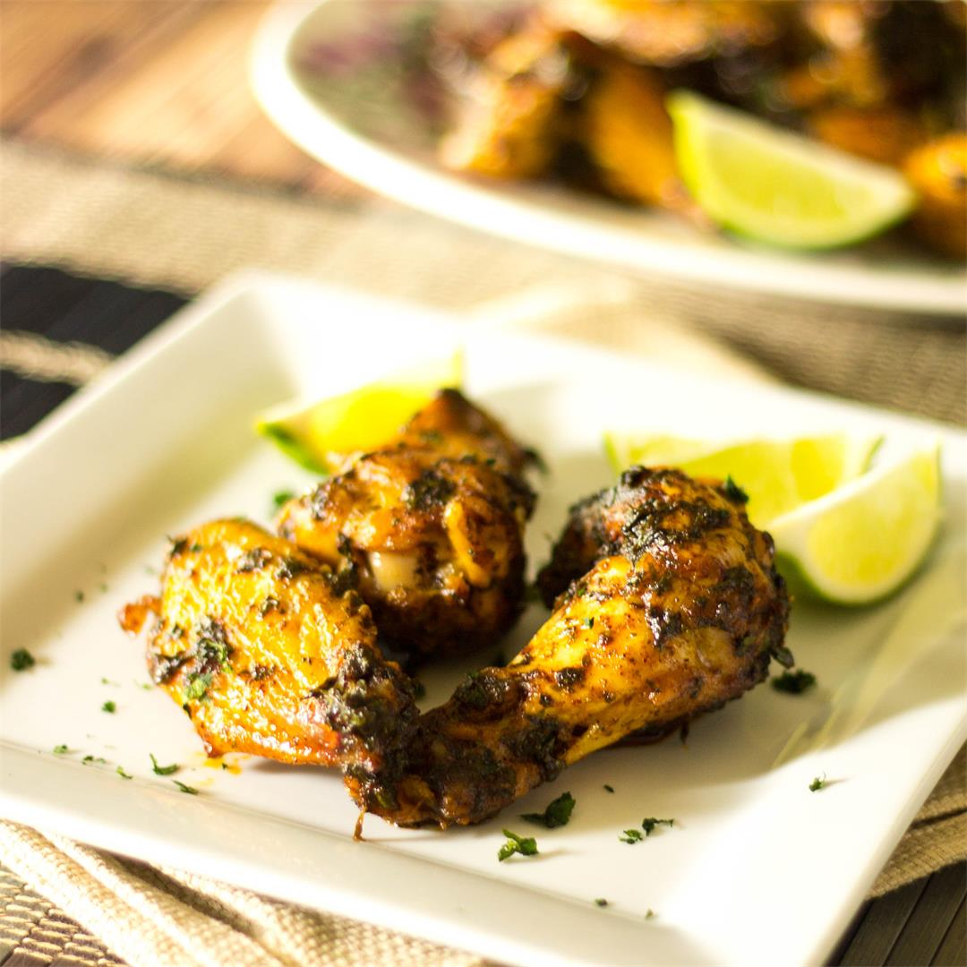 Buttery Chili Lime Chicken Wings