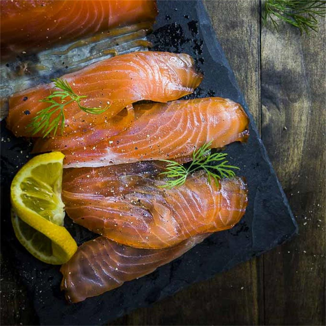 Simple Cured Salmon Recipe
