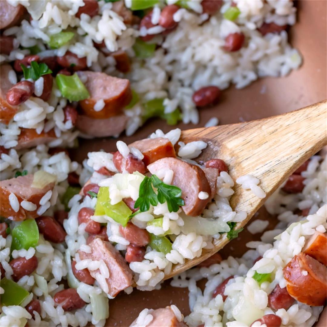 Red Beans and Rice Skillet