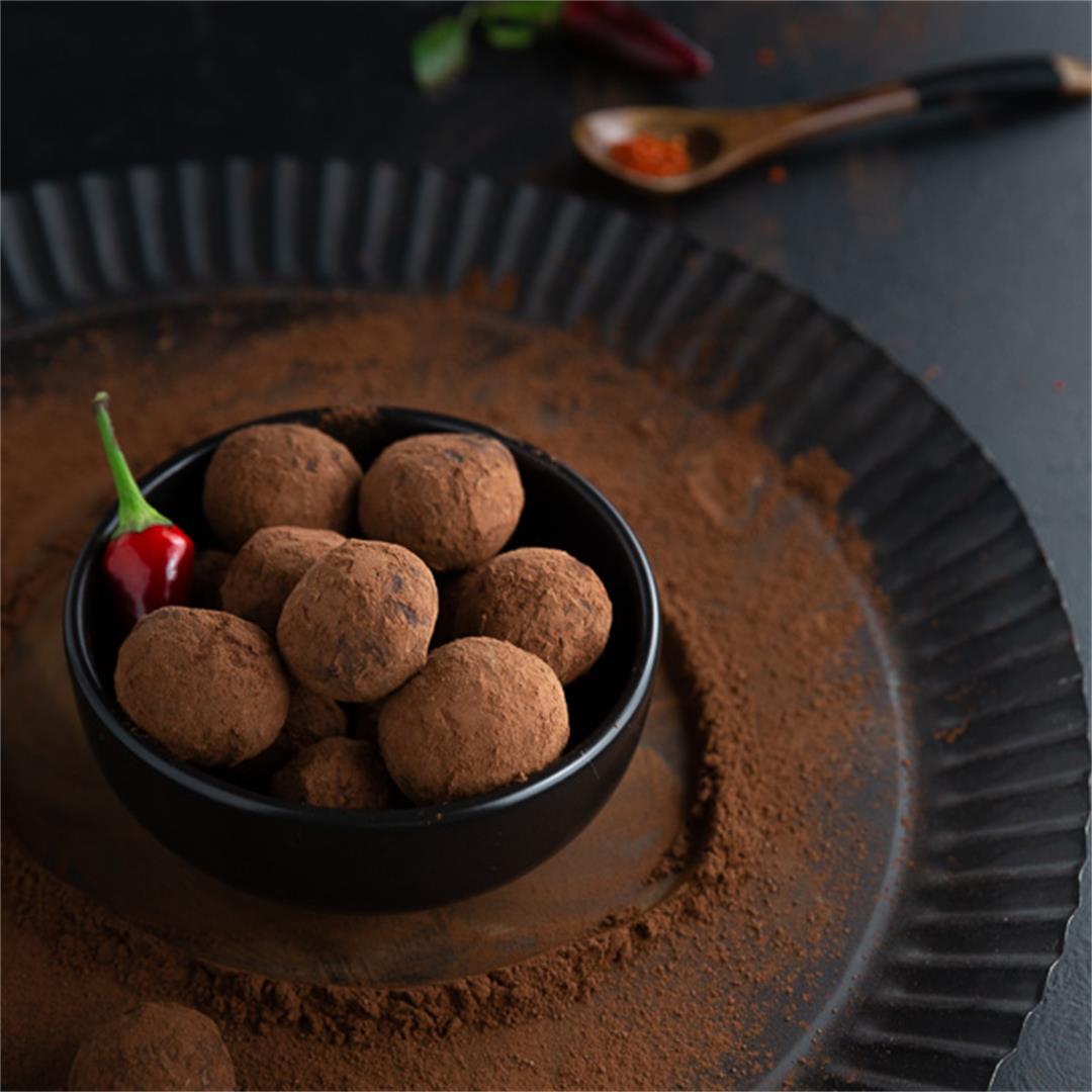 Spicy Chili Truffles