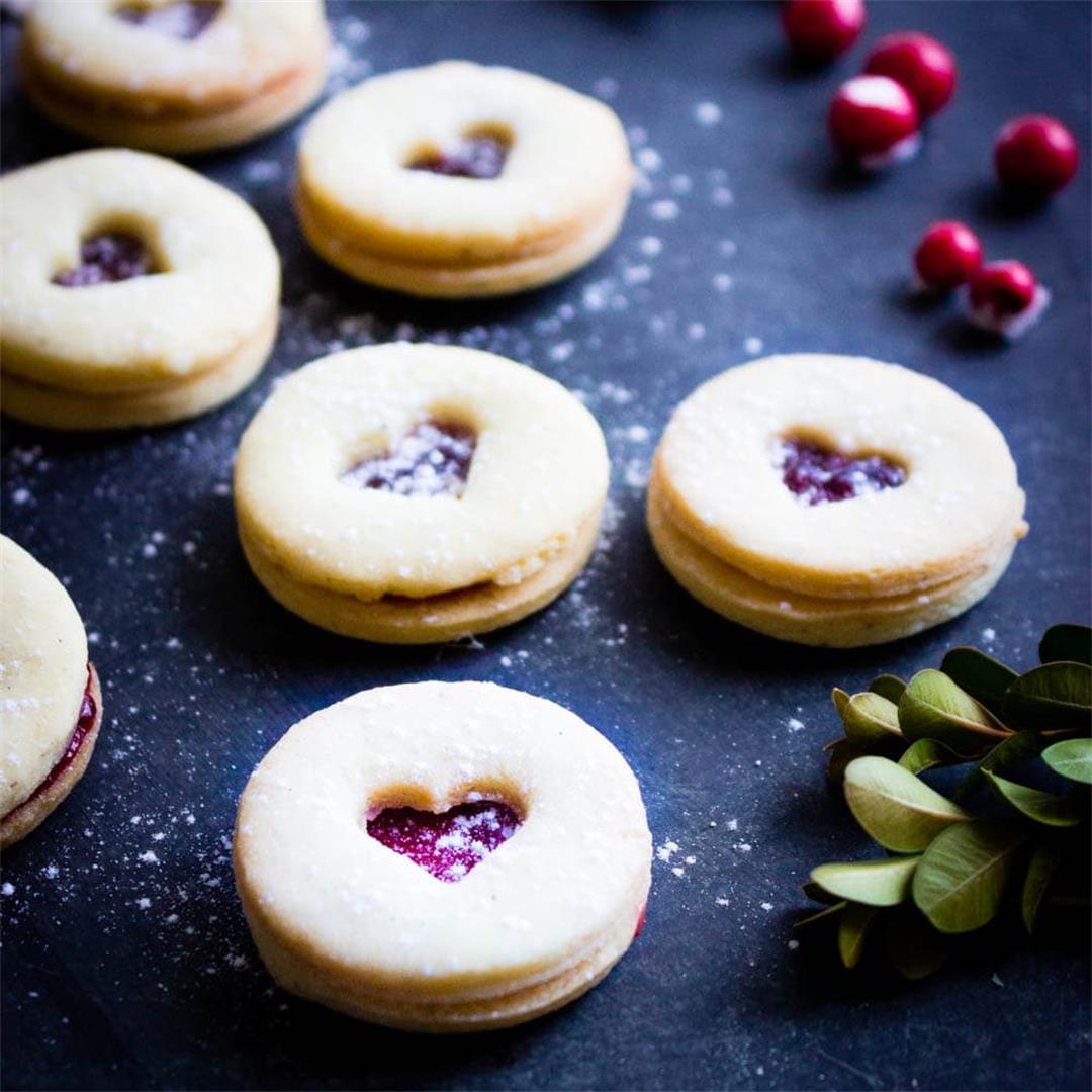 Swiss Jam Sandwich Cookies (Spitzbuben)