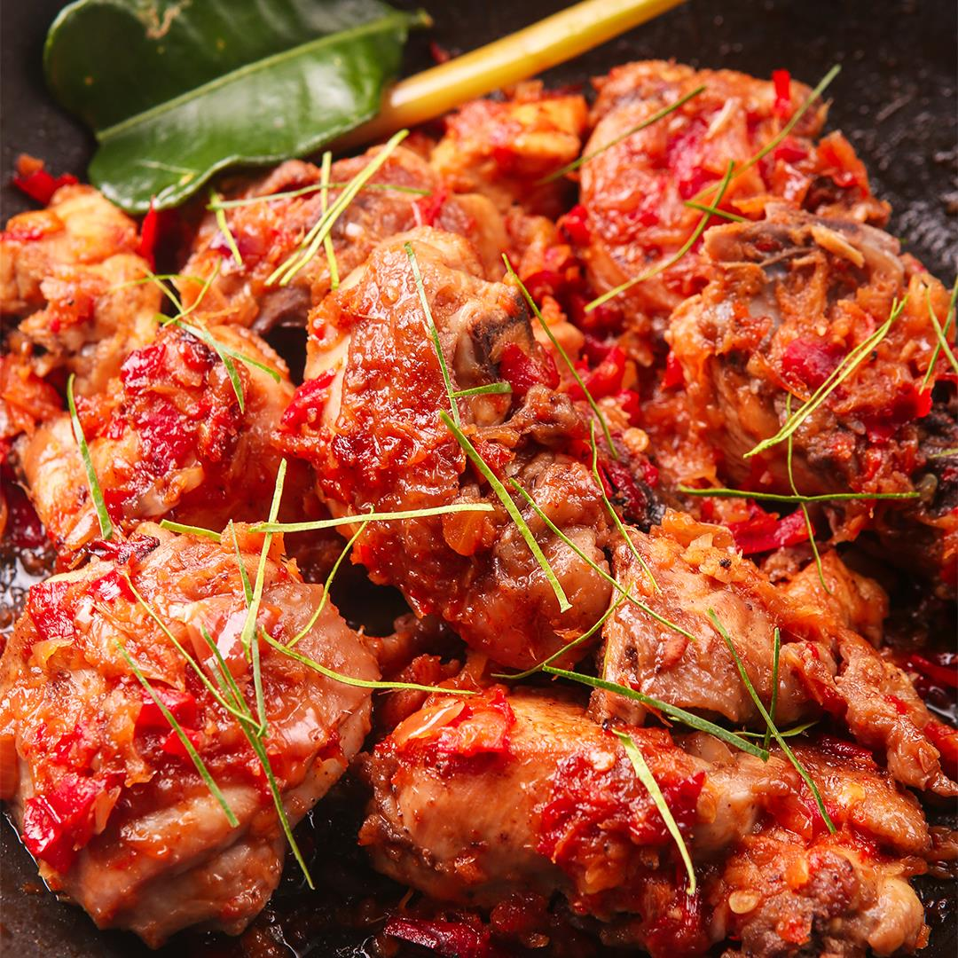 Indonesian Spicy Chicken – Ayam Rica-rica