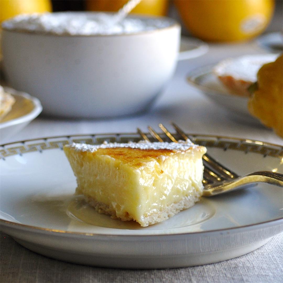 Mini Sabayon Lemon Tarts