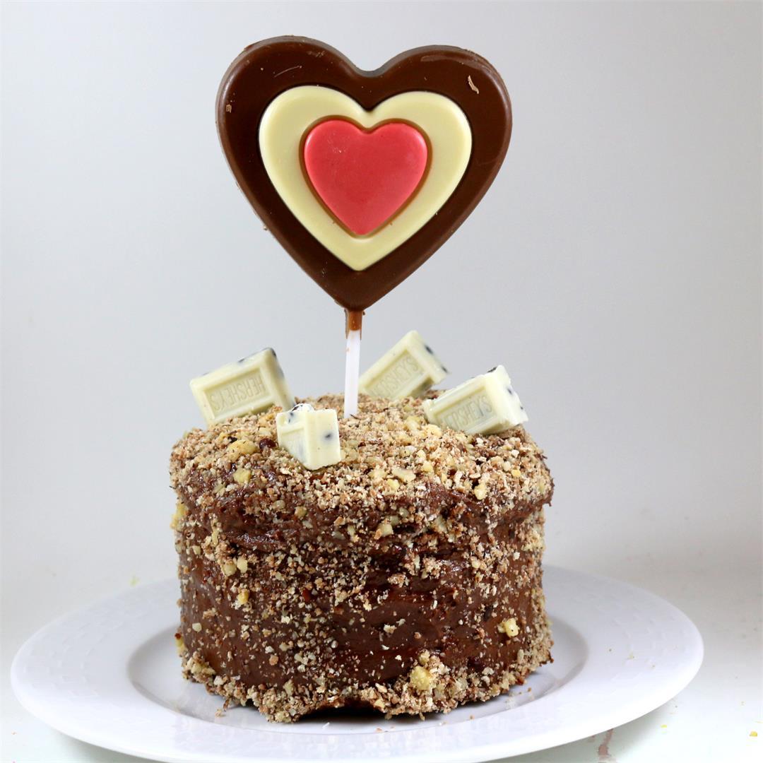 Mini Ferrero Rocher Torte