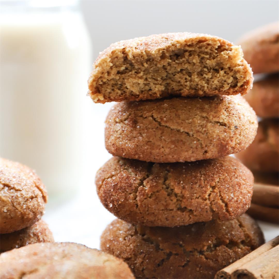 Gluten Free & Dairy Free Snickerdoodles