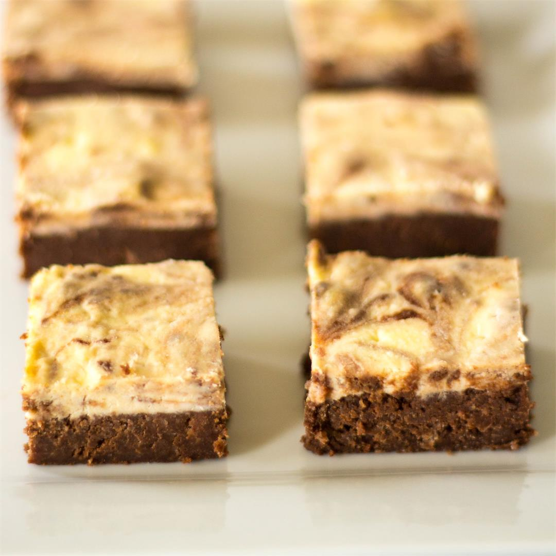 Cheesecake Brownies - Low Carb Gluten Free